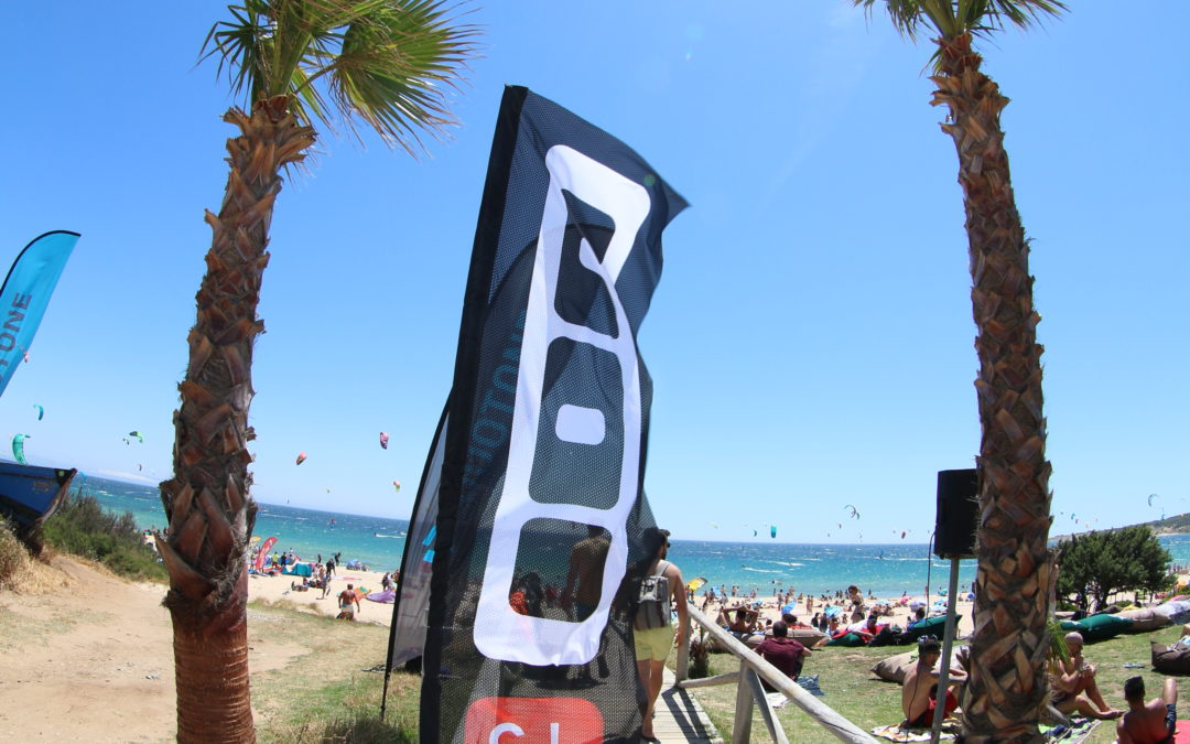 Kitesurfing in Tarifa in October